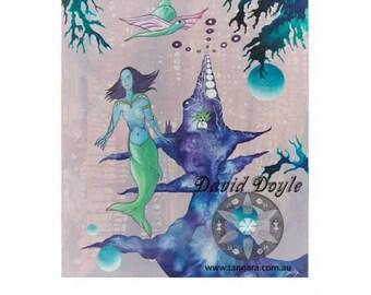 Orbs of Aqua by David Doyle .. Limited Edition Archival Print
