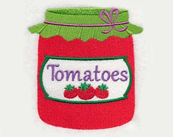 Tomatoes Tea Towel | Embroidered Kitchen Towel | Embroidered Towel | Personalized Kitchen Towel | Tomato Gifts | Embroidered Tea Towel