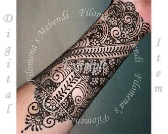 Mehndi Patterns : Henna book learn patterns mehndi