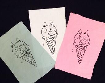 Cat Ice Cream patch