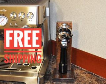 Portafilter Stand, Portafilter, Stand, Espresso Stand, Espresso Portafilter Stand, Wood Stand, Coffee Accessories, Coffee Stand, Espresso