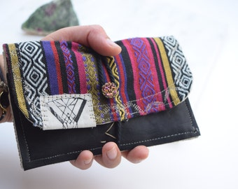 ARCOIRISJ30• colorful tobacco pouch, handmade with love (VEGAN)