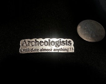 Signs Of The Thymes A Pewter Button With Funny Sayings
