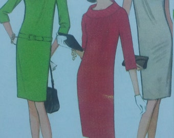 Clearance Sale Vintage McCalls 8544 Sewing Pattern Size 12