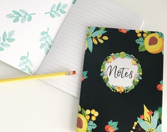 Notebook - NAVY NOTES