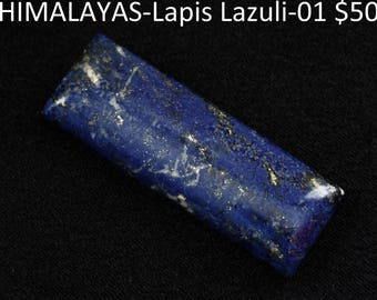 Lapis pendant without findings