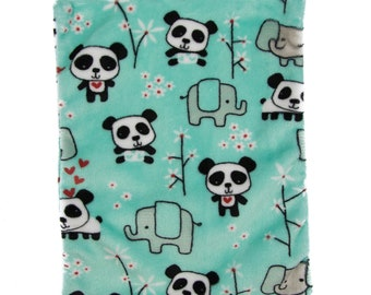 Hottie Thermal Heat Pad - Microwaveable Back Pain Relief Pack - Plush Fleece Panda and Pal!