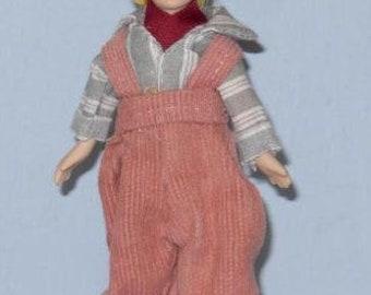 PORCELAIN BOY dollhouse people