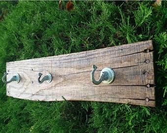 Wood Shelf, Reclaimed Wood Shelf, Wooden Coat Rack, Rustic Towel Holder, Wood Decor
