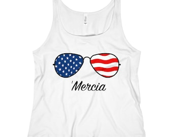 WomenS Relaxed Jersey Tank Top