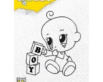 Stamp is clear, Nellie Snellen, baby boy Toys, Dada Collection, Scrapbooking, Cardmaking, crafting