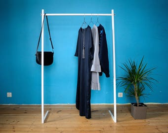 Clothing Rack  ZRAIL// Clothes rack // Wardrobe // Shop display // Garment rack // Durable // Quick and Easy Assembly // Industrial wardrobe