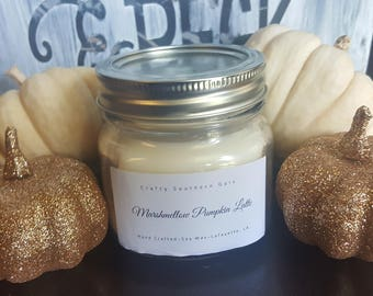 Marshmellow Pumpkin Latte Candle