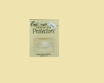 Jewelry Shield, Sensitive Ear Protection, E'arrs; Pierced Ear Protectors