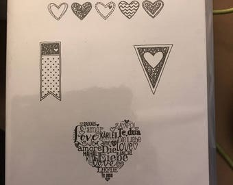 Language of Love Stamps