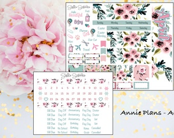 April Montly Kit - Annie Plans - A6 RINGS