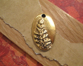 Redwood Charm in Antique Gold from Nunn Design