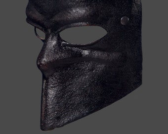 Leather Mask   Leather Bauta