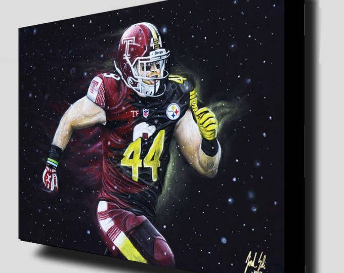 Tyler Matakevich - Temple Football - Temple Owls - Temple University - Temple Dorm Decor - Wall Art- Man Cave - Steelers - Gift Ideas