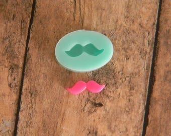 Silicone Flexible Mold - Tiny Mustache