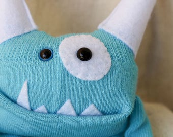 Sock Monster – Cloudy – Pocket Size