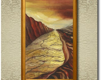 Dryland - Original Silk Painting
