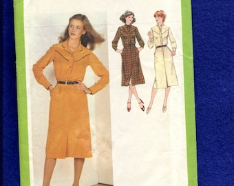 1970's Simplicity 9101 Western Yoke Shirt & Skirt Pattern Size 12 UNCUT
