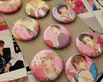 NCT 127 pinback button from Fire Truck, Limitless and more