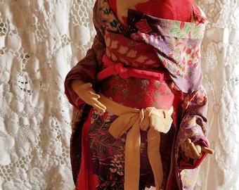 1950s Japanese Geisha Doll