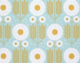 Maize Prarie Bloom - Wander Collection by Joel Dewberry - Quilt fabric by the Half-Yard or Full Yard - Free Spirit Fabrics