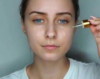 Organic all natural lush liquid gold Facial Oil serum