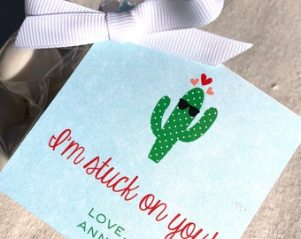 You're fancactus! | Valentine Tags