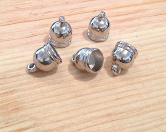 X 10 RESIN FINIALS TO BE STUCK INSIDE 10MM