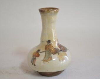 Antique vase 4458, Kutani Satsuma