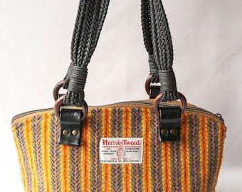 Harris Tweed Shoulder Bag, Tweed Bag, Tweed Handbag, Harris Tweed Bag, Tweed Shoulder Bag