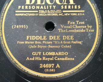 Decca Personality Series Guy Lombardo and His Royal Canadians