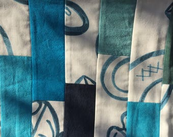 SALE! SEA LEVEL Cherrywood Fabric Table Runner Hand Made