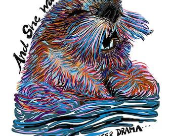 Otter Drama