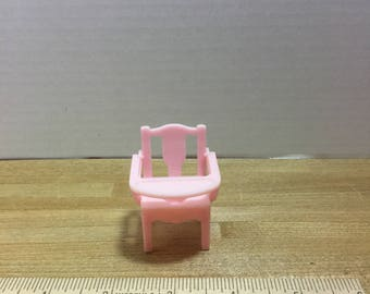 Dollhouse furniture Renwal vintage plastic potty chair