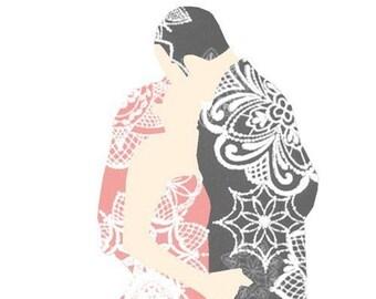 Wedding Card - Embrace