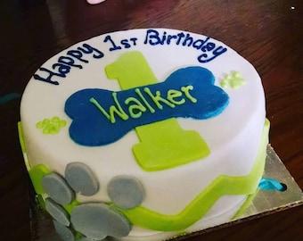 Banana Birthday Cake For Dogs ~ Dog birthday cake etsy