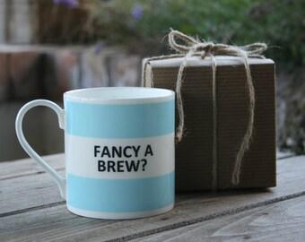 Fancy a Brew Hoop Mug