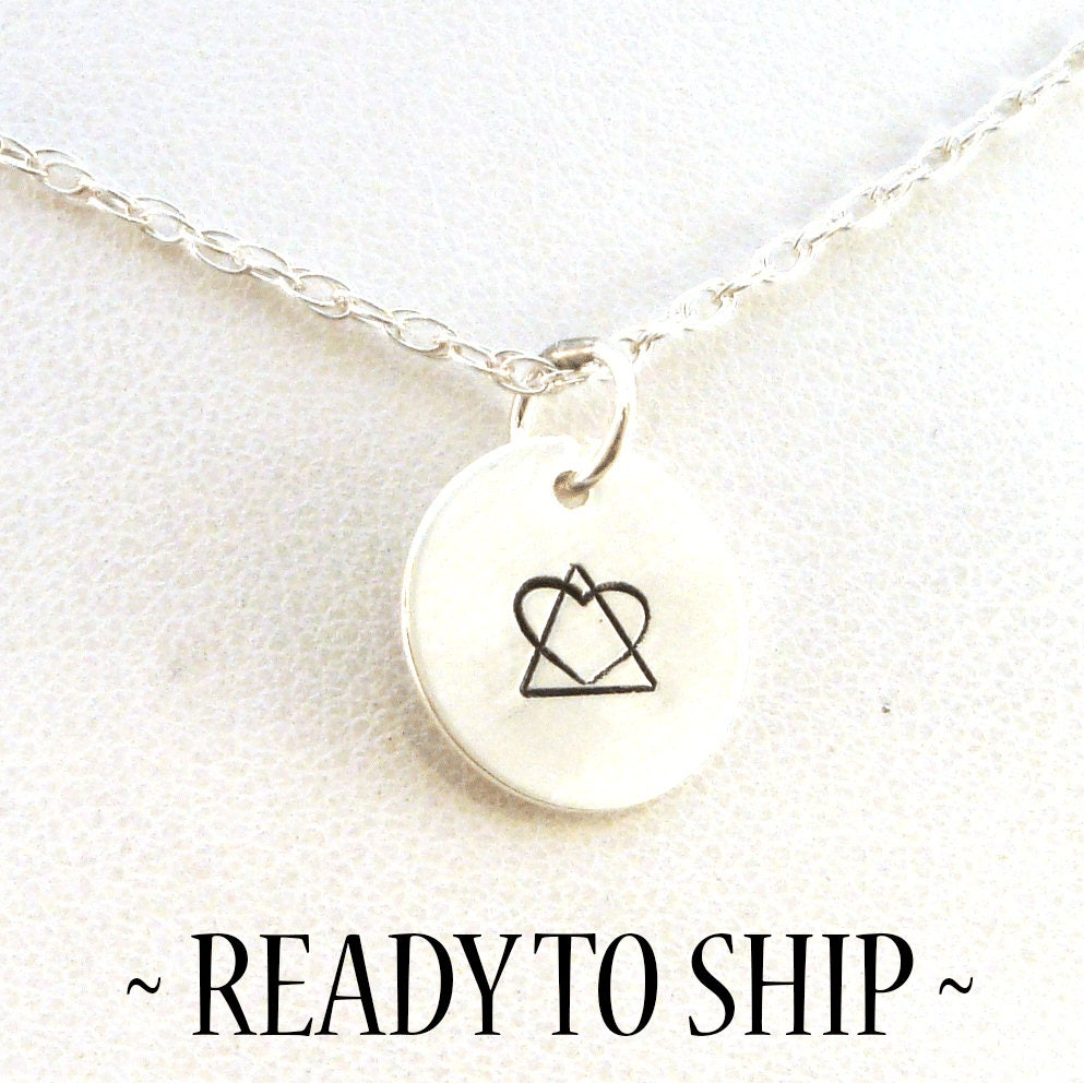 Adoption symbol necklace adoption necklace adoption zoom buycottarizona Image collections
