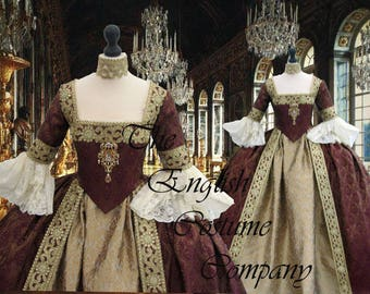 SORRY   SOLD  Venice Marie Antoinette Versailles Rococo.Colonial Georgian 18thc . Fully Corseted..