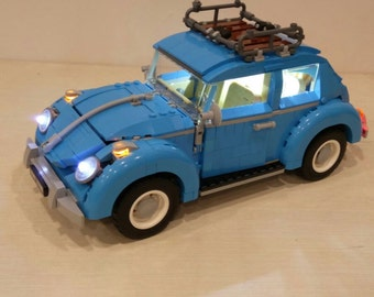 Light up kits for 10252 Volkswagen Beetle - (Car not included)