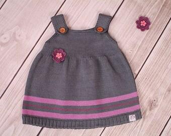 Baby dress knitting dress tunics