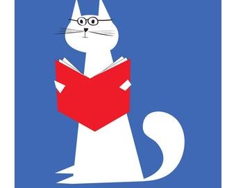 Le chat intellectuel big print