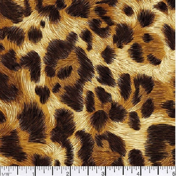 African Animal Skin Prints Fabric Sold By The Yard 100 Cotton