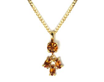 Sparkling Primrose Yellow Necklace