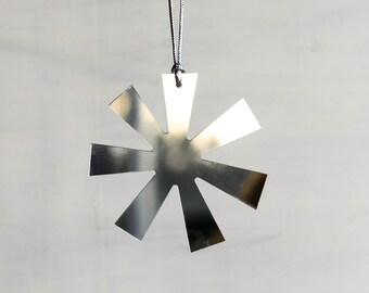 Retro Mirror Holiday Ornaments - Set of 4, Christmas Tree Ornaments, asterisk, retro, midcentury modern